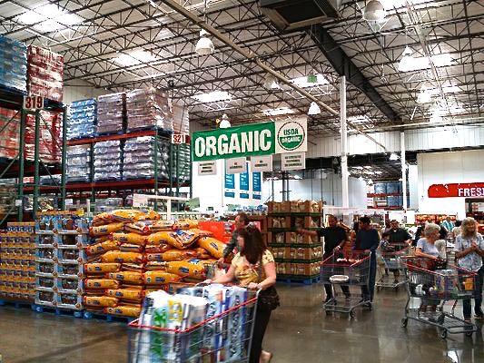 organic in warehouse