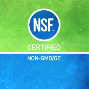 NSF Certified Non-GMO/GE