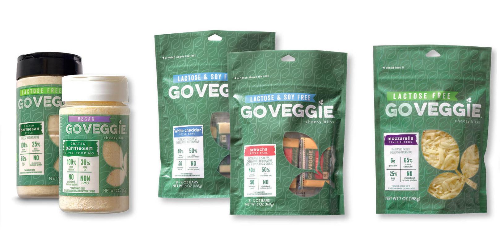 GO VEGGIE Goes All Green! (PRNewsFoto/GO VEGGIE)