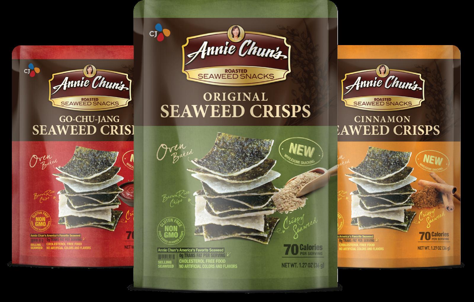 Seaweed Crisps Family Shot