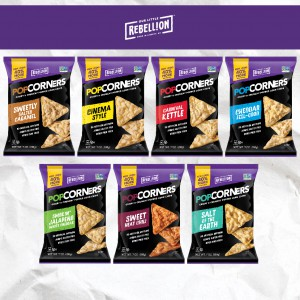 To Take Over Salty Snacks, PopCorners Forms A Rebellion
