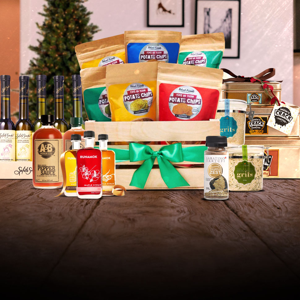 Hunger for Holiday Food Gifting Leads to Boom in Sales