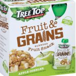 Tree Top Launches Fruit & Grains and Fruit & Veggies Pouches