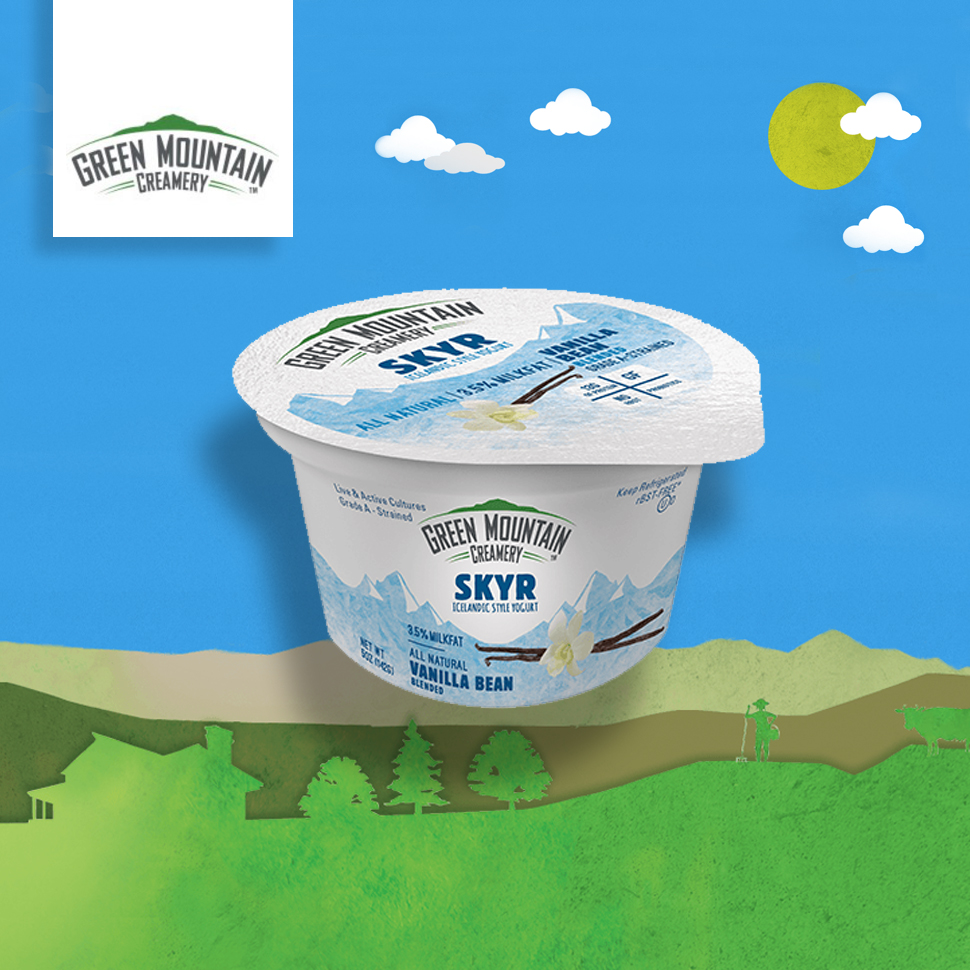 Green Mountain Creamery: We've Made a 'Gateway' Skyr