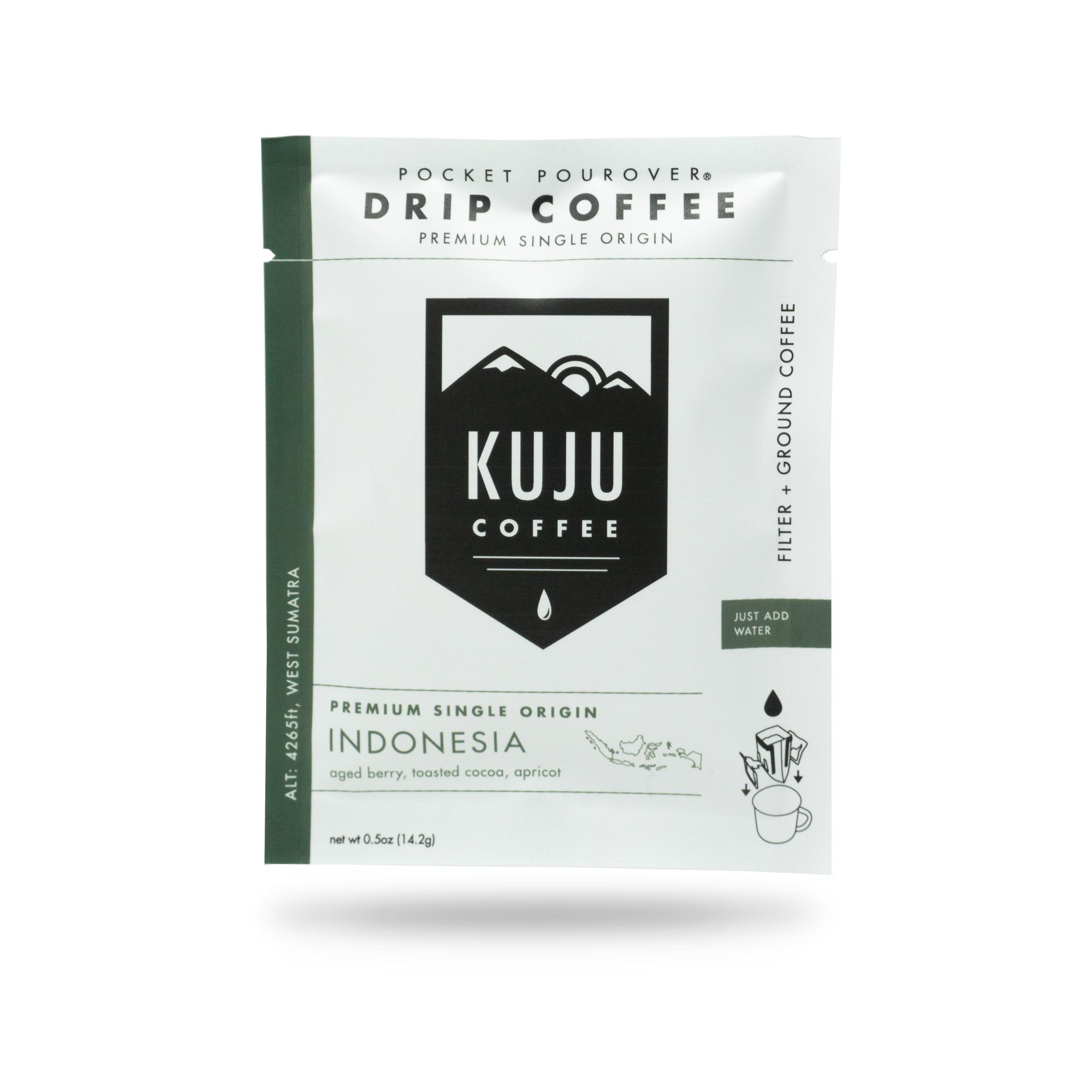 Kuju Coffee Launches Single Origin Pocket PourOvers
