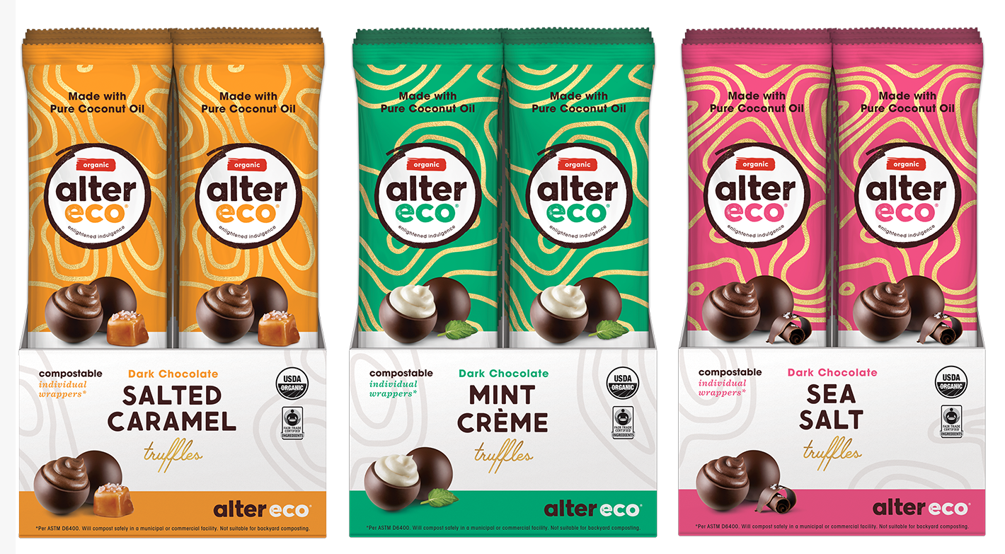 Alter Eco® Debuts Truffle 3-Packs