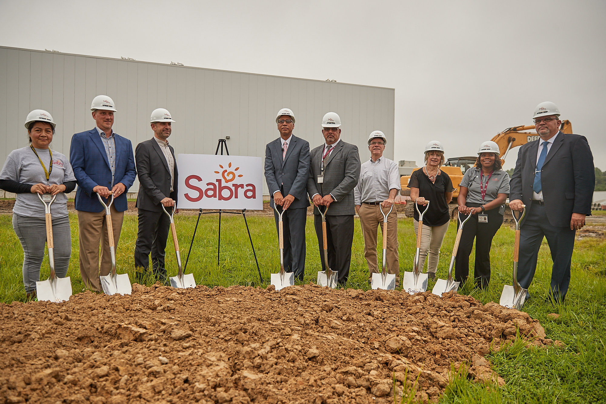 Sabra Dipping Company – Break Ground