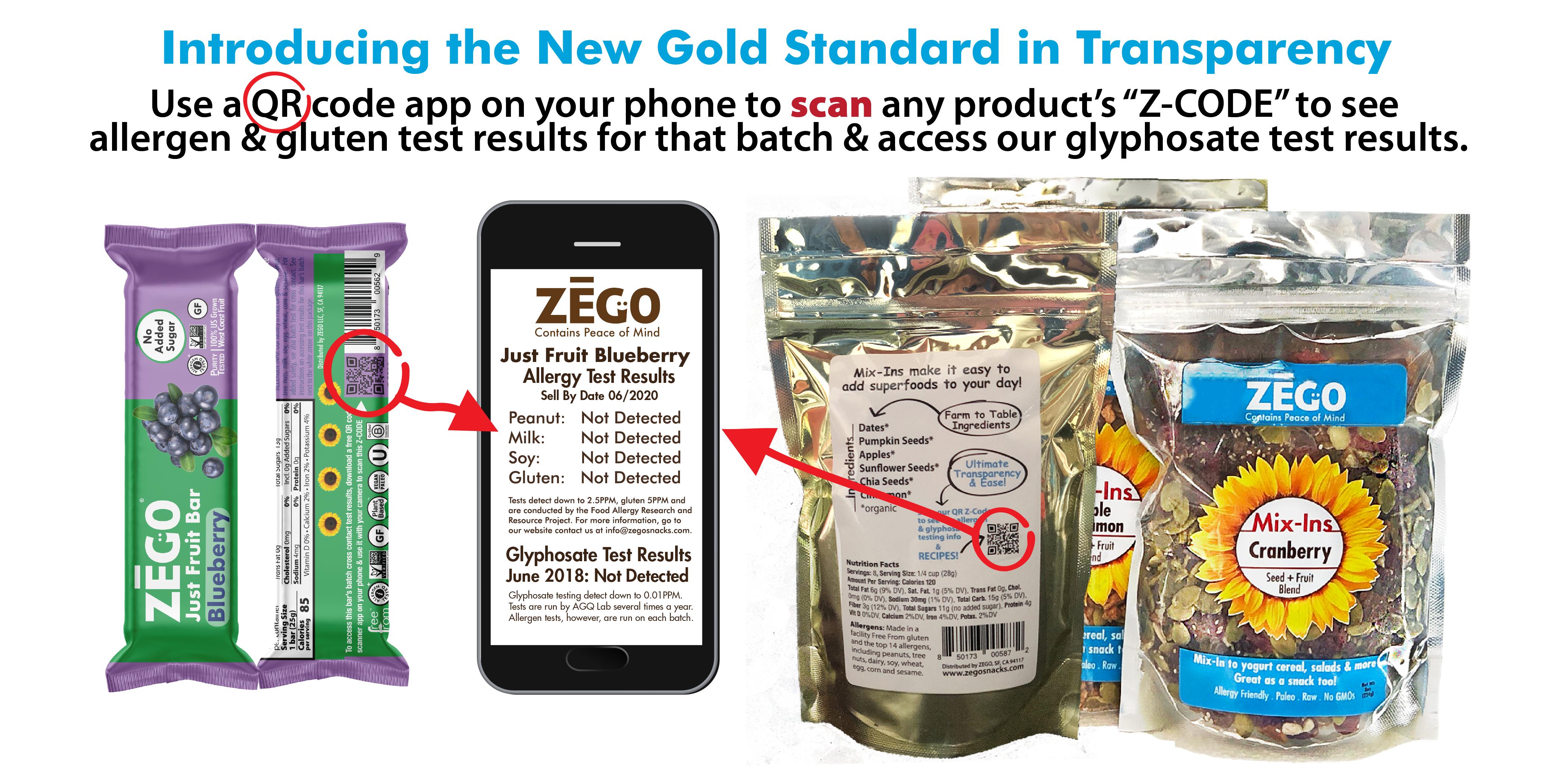 ZEGO Snacks to Provide Blockchain Traceability for New Glyphosate Testing