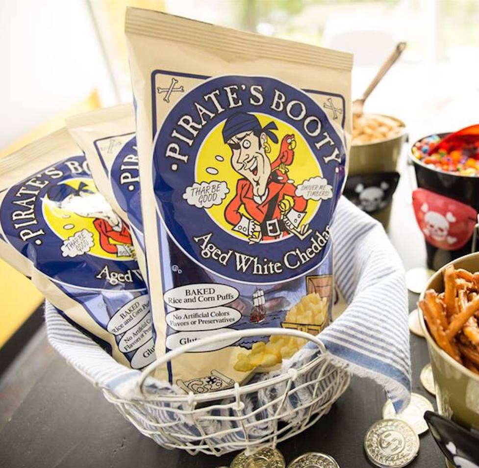 Hershey's to Add Pirate's Booty to Snack Portfolio