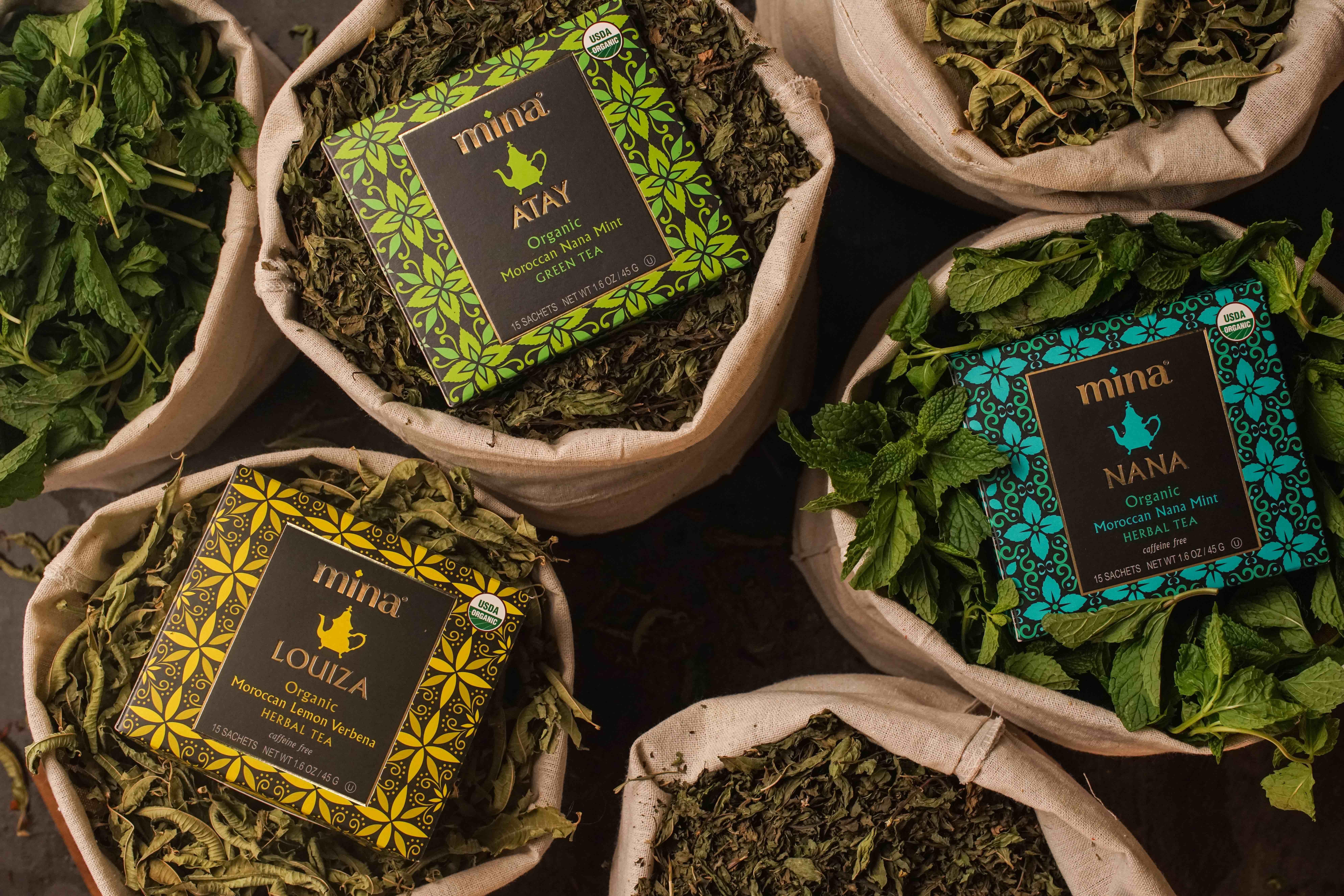 Sip Moroccan tradition. Mina introduces range of organic Moroccan teas.