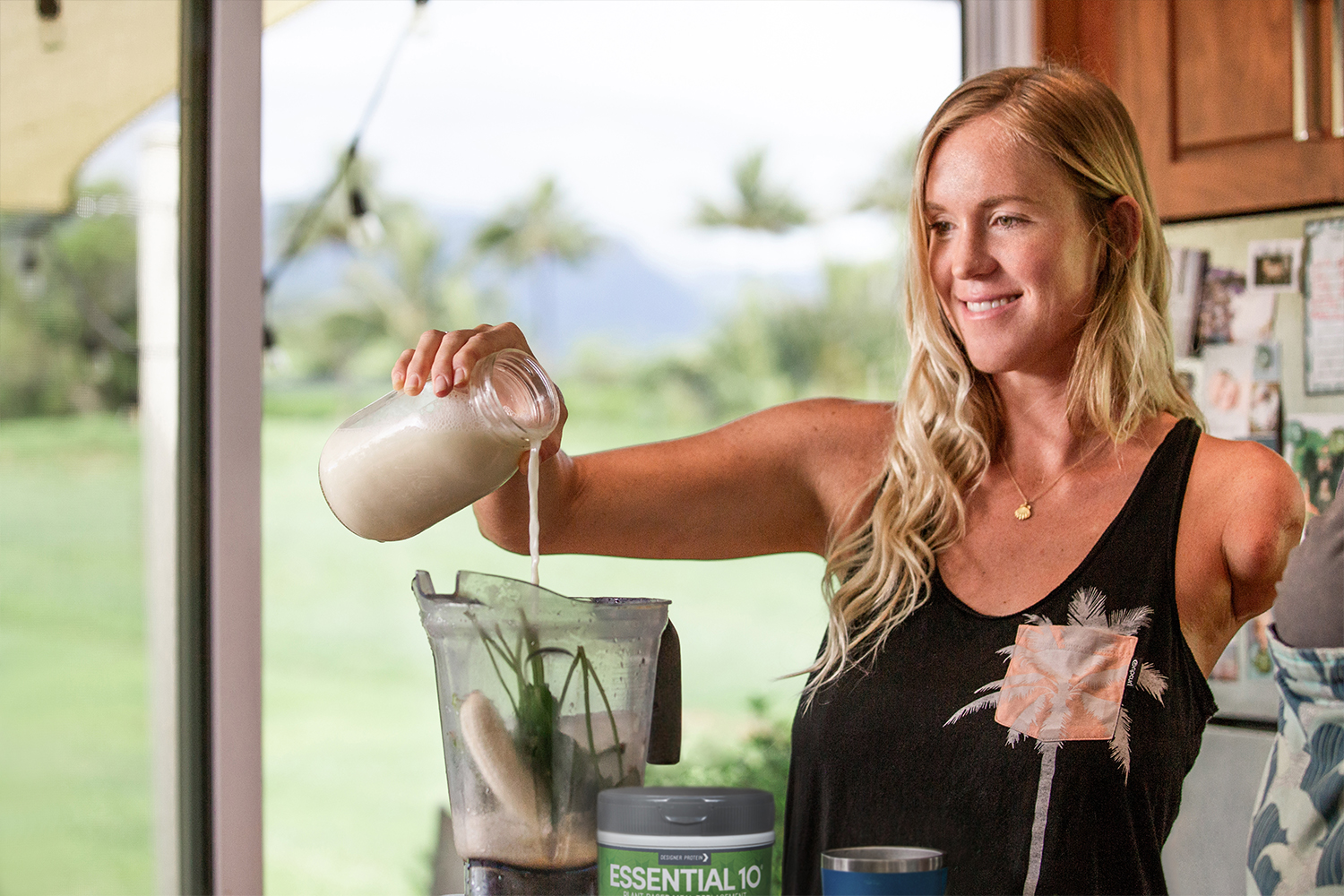 Bethany Hamilton, Top Ranked Surfer and Influencer, Is Designed to be Fearless