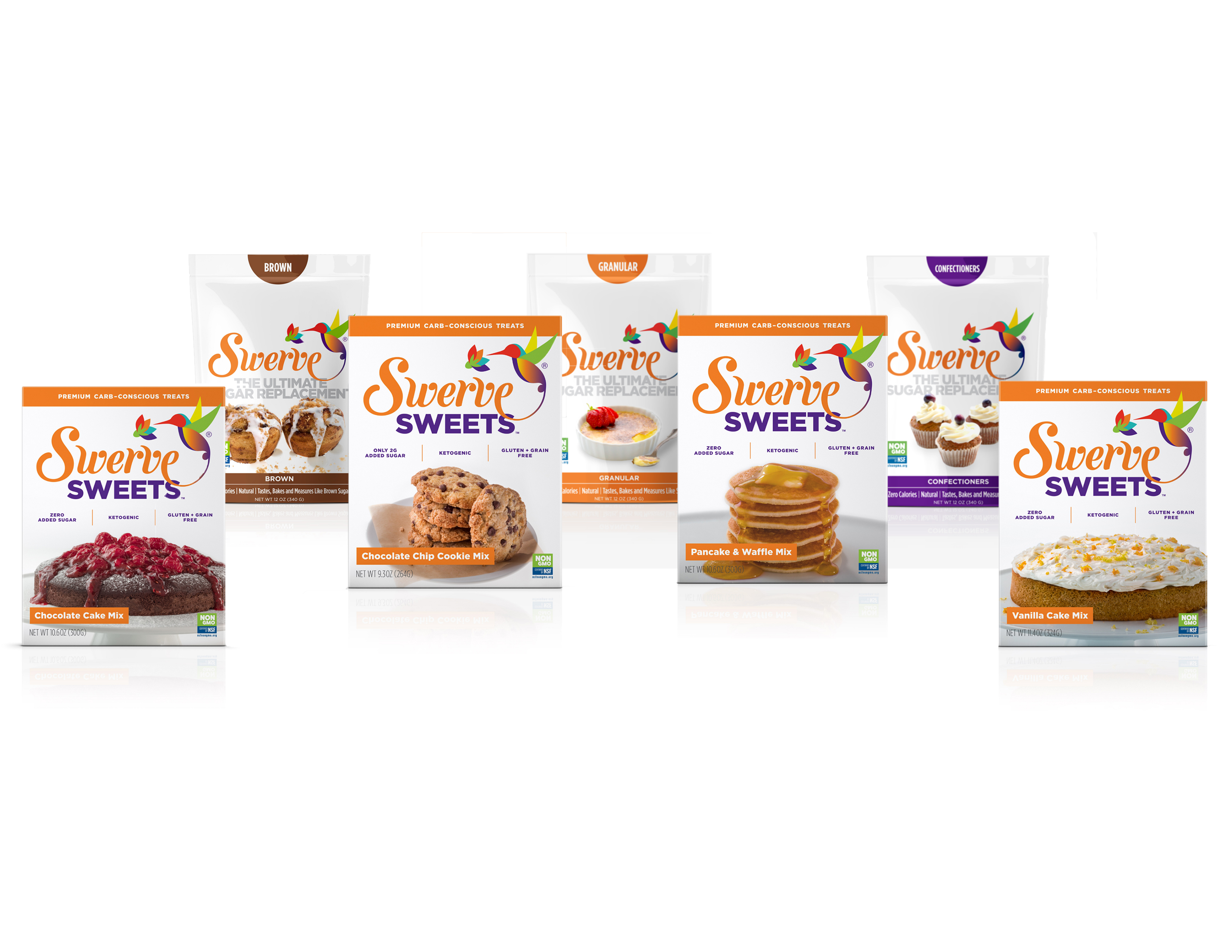 Swerve Launches Five New Carb-Conscious Products for a Smarter Way to Sweet