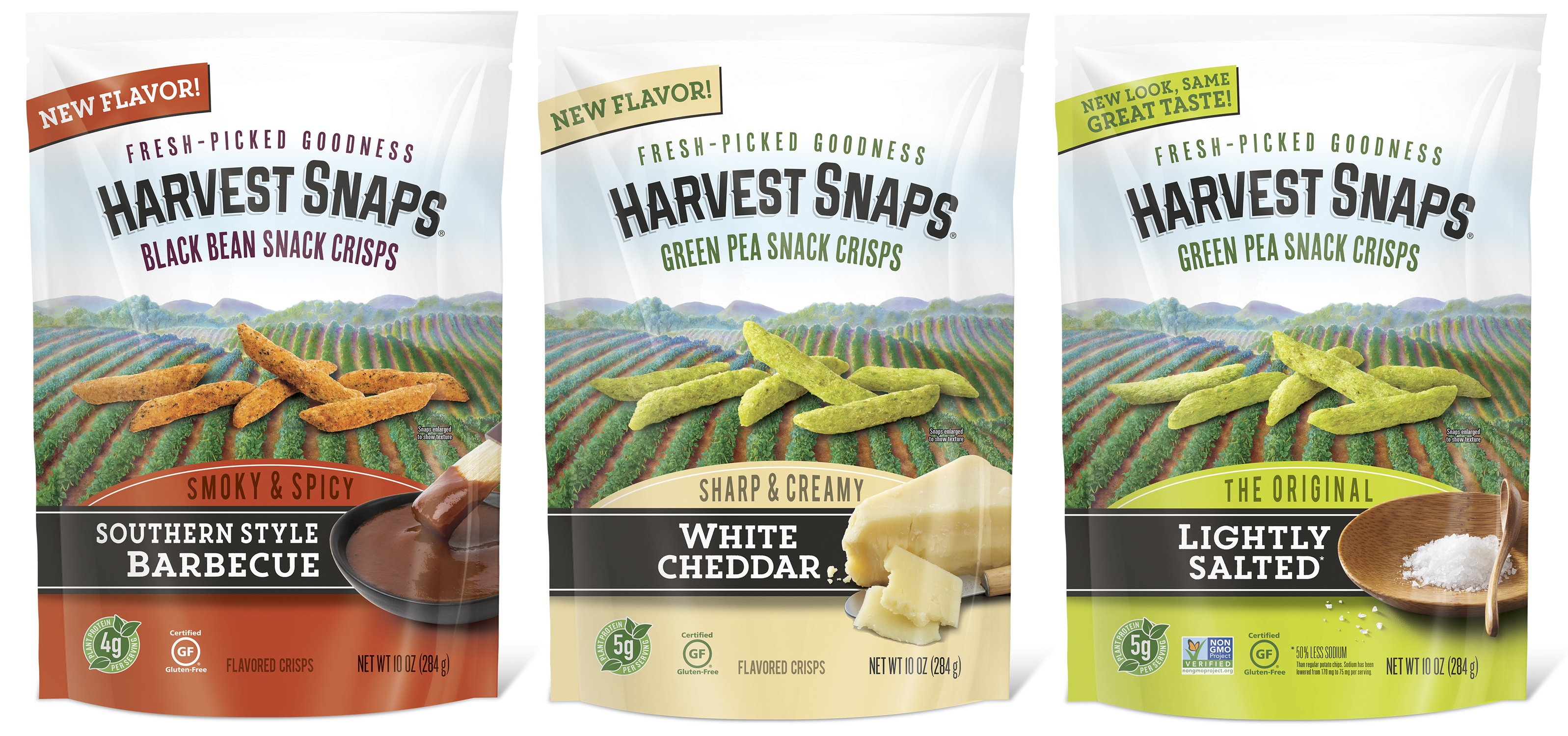 Your interest in Harvest Snaps New Bigger Bag Flavors