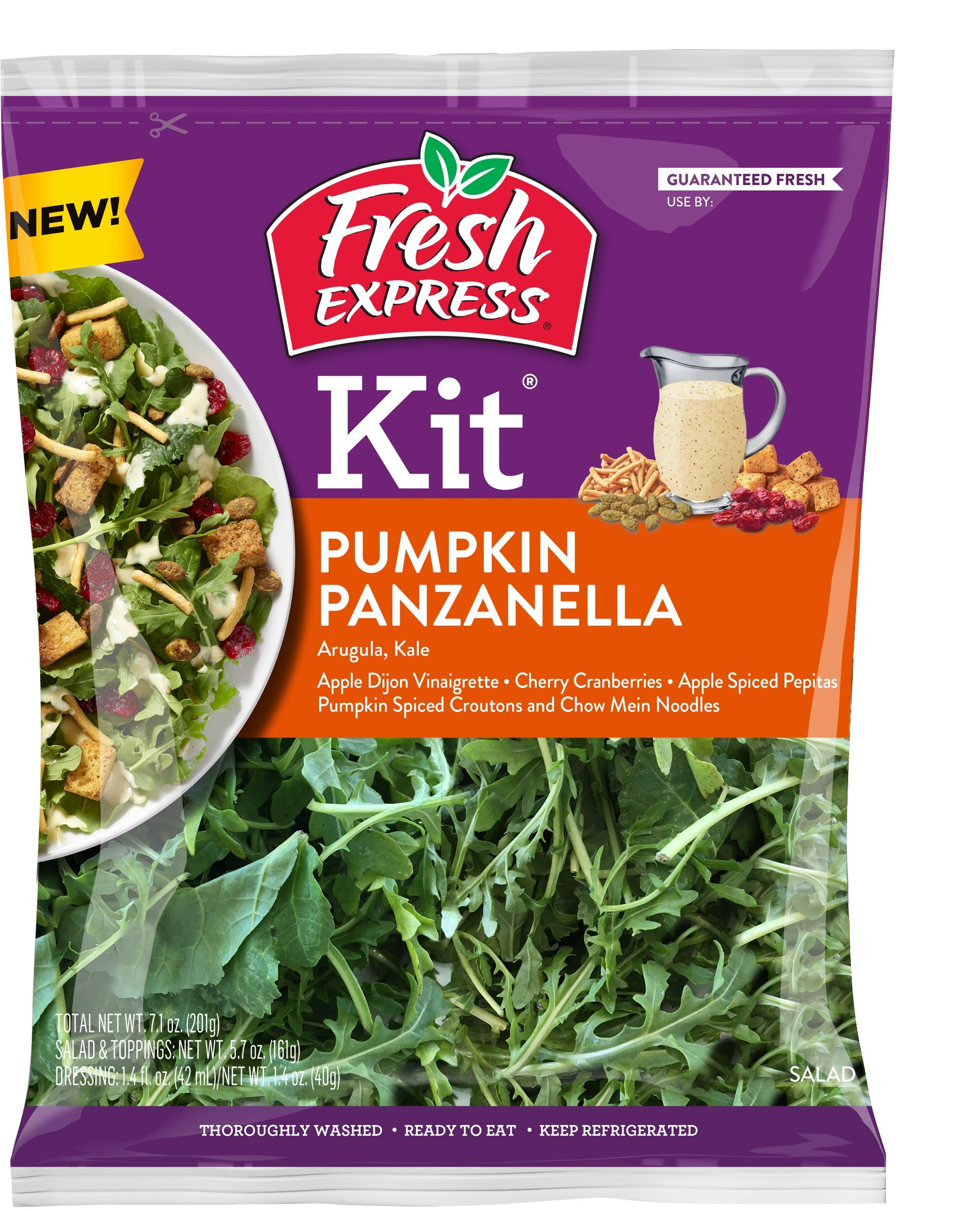 Fresh Express Pumpkin Panzanella Salad Kit