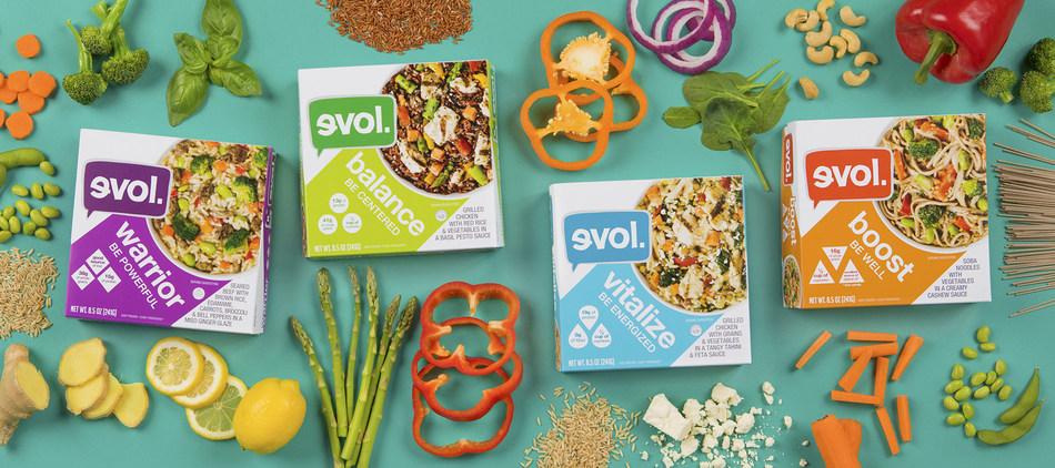 Modern Nutrition Bowls EVOL Foods