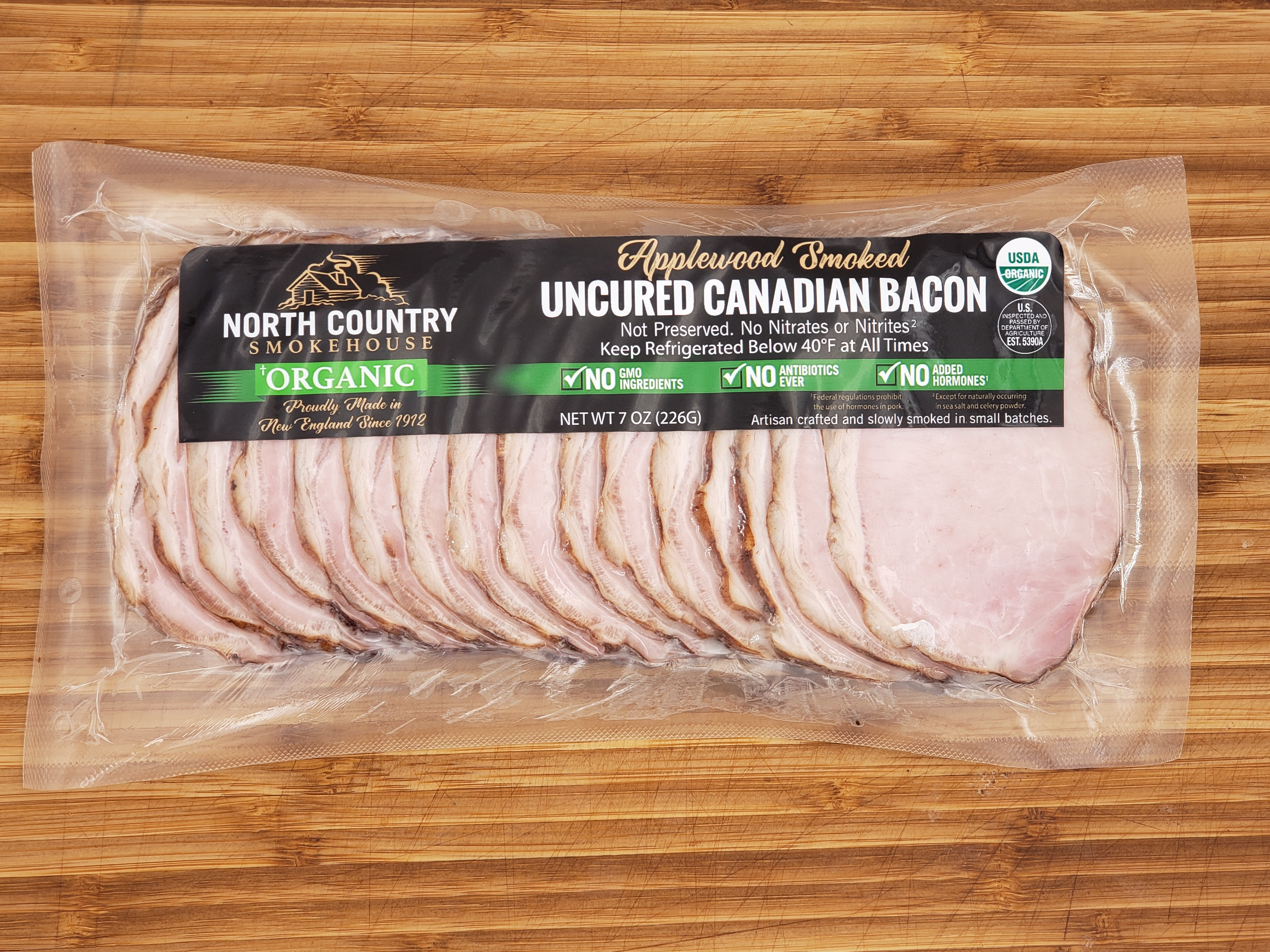 North Country Smokehouse Launches Organic Canadian Bacon