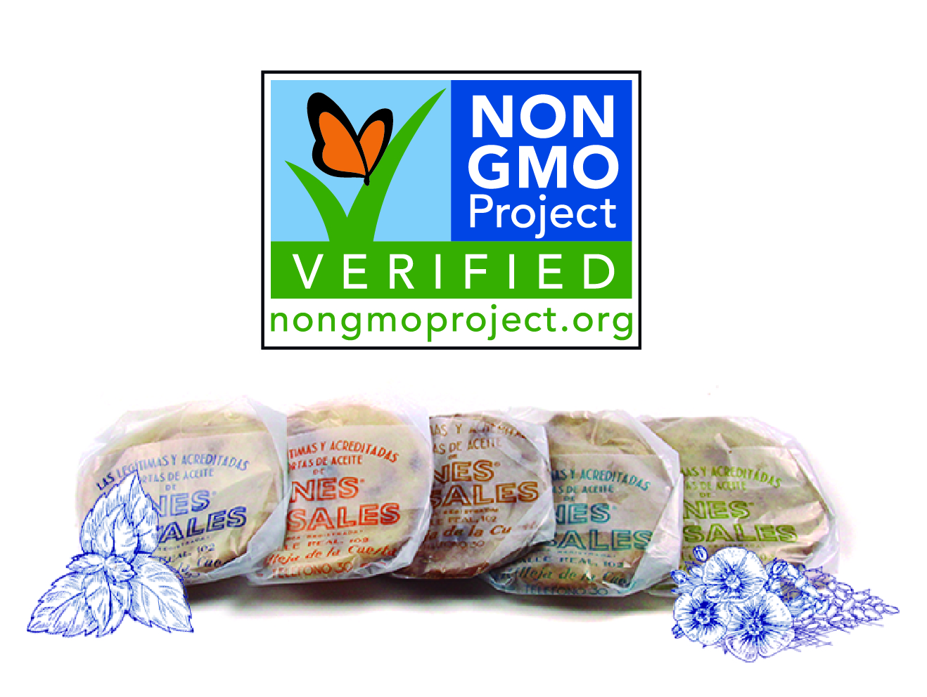 Ines Rosales Tortas are now Non-GMO certified
