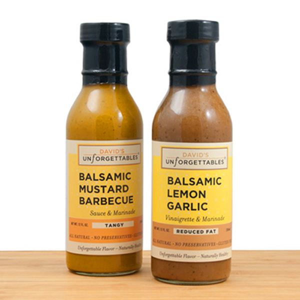 David's Unforgettable Foods Introducing two new Balsamic Flavors at 2019 Winter Fancy Food Show, Booth #6058