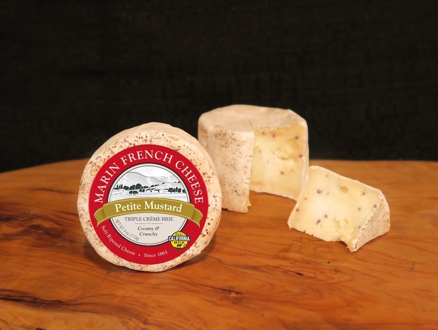 New Mustard Brie