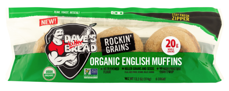 Blast Off with Dave's Killer Bread NEW! English Muffins