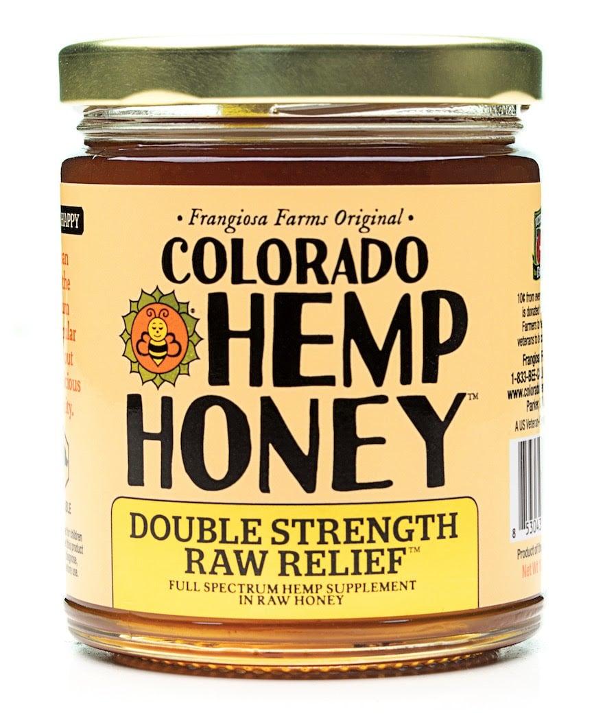 Colorado Hemp Honey Launches Double-Strength Raw Relief