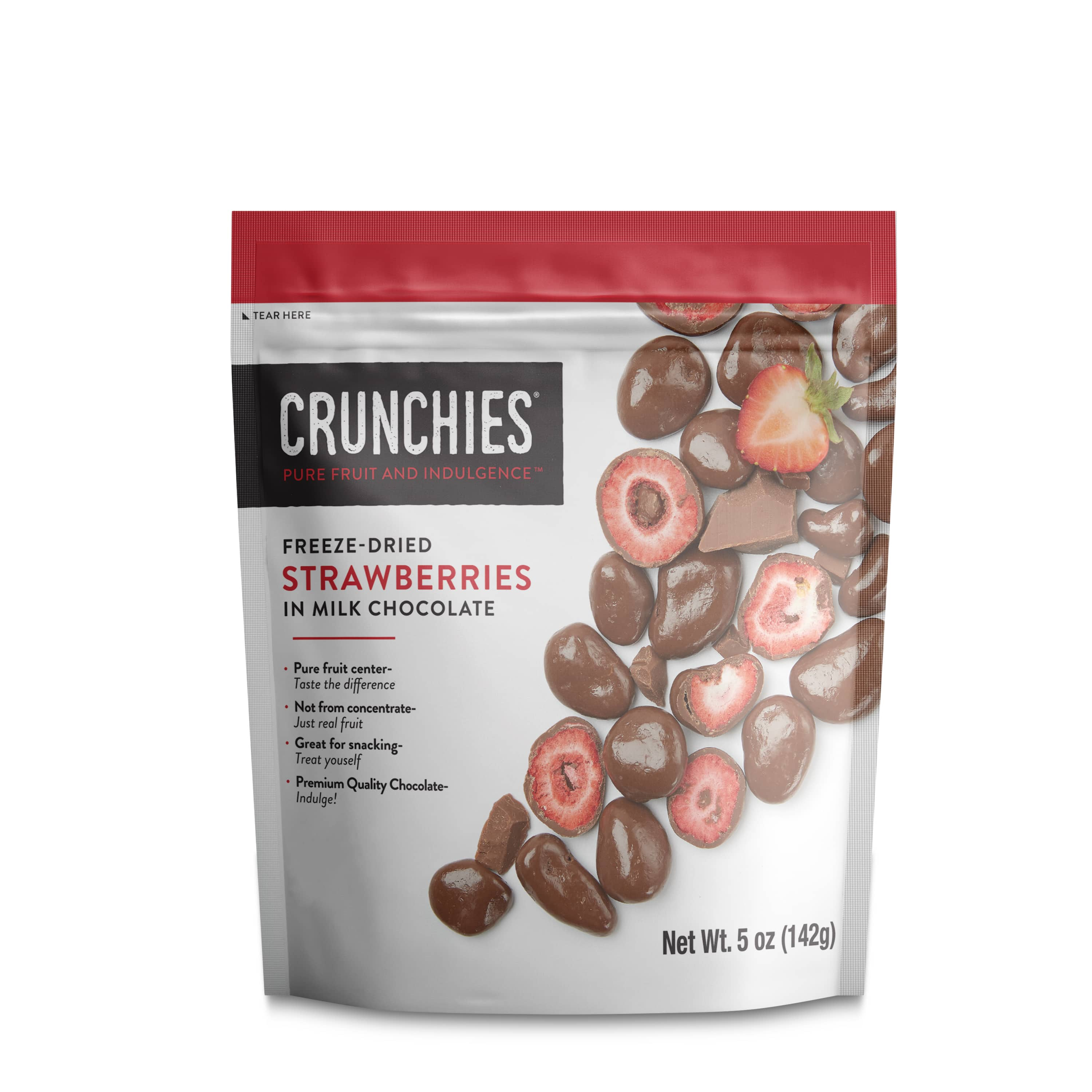 Indulge Your Craving: Crunchies Launches New Chocolate Covered Freeze-Dried Fruit