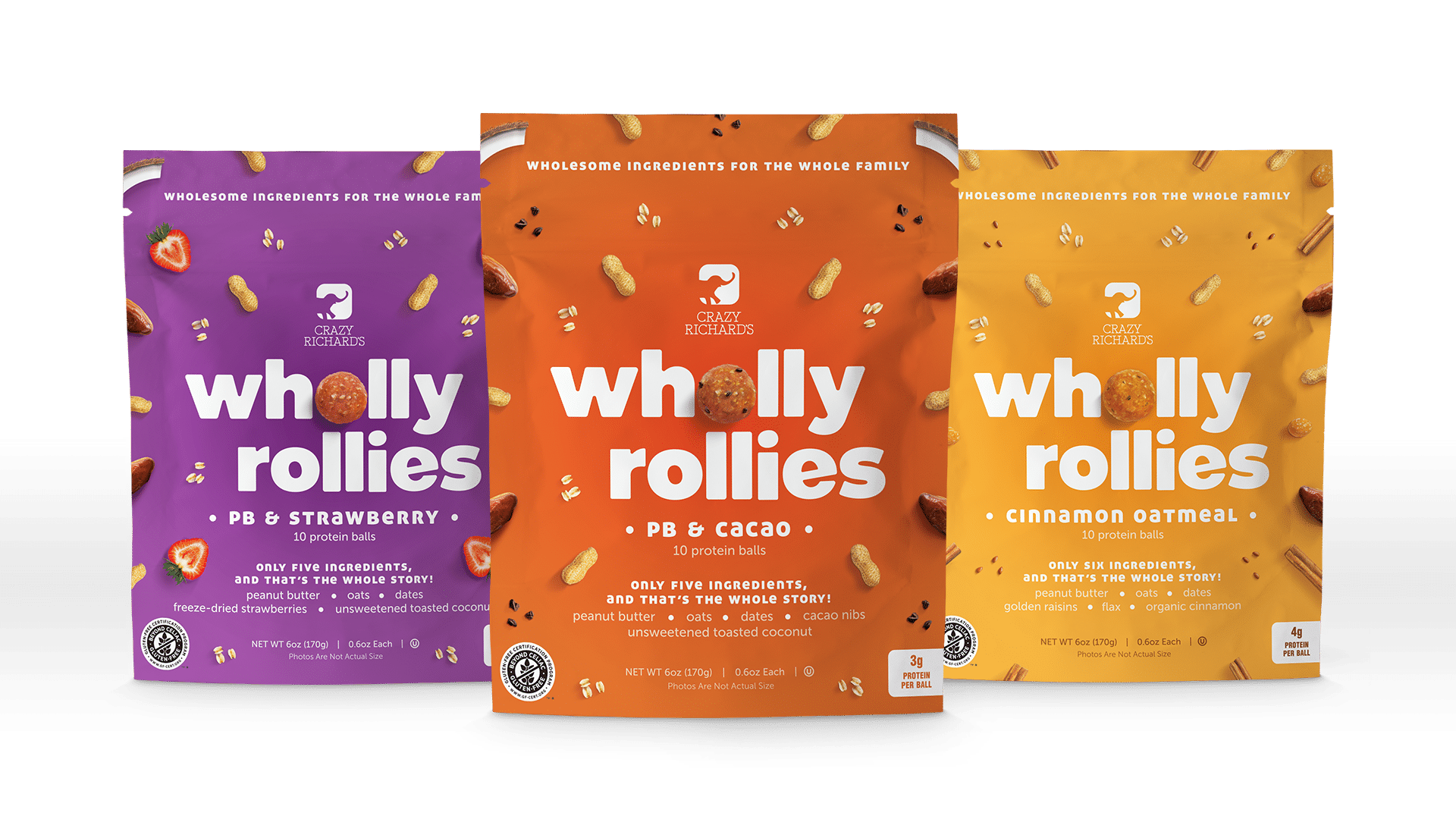 Crazy Richard's introduce Wholly Rollies