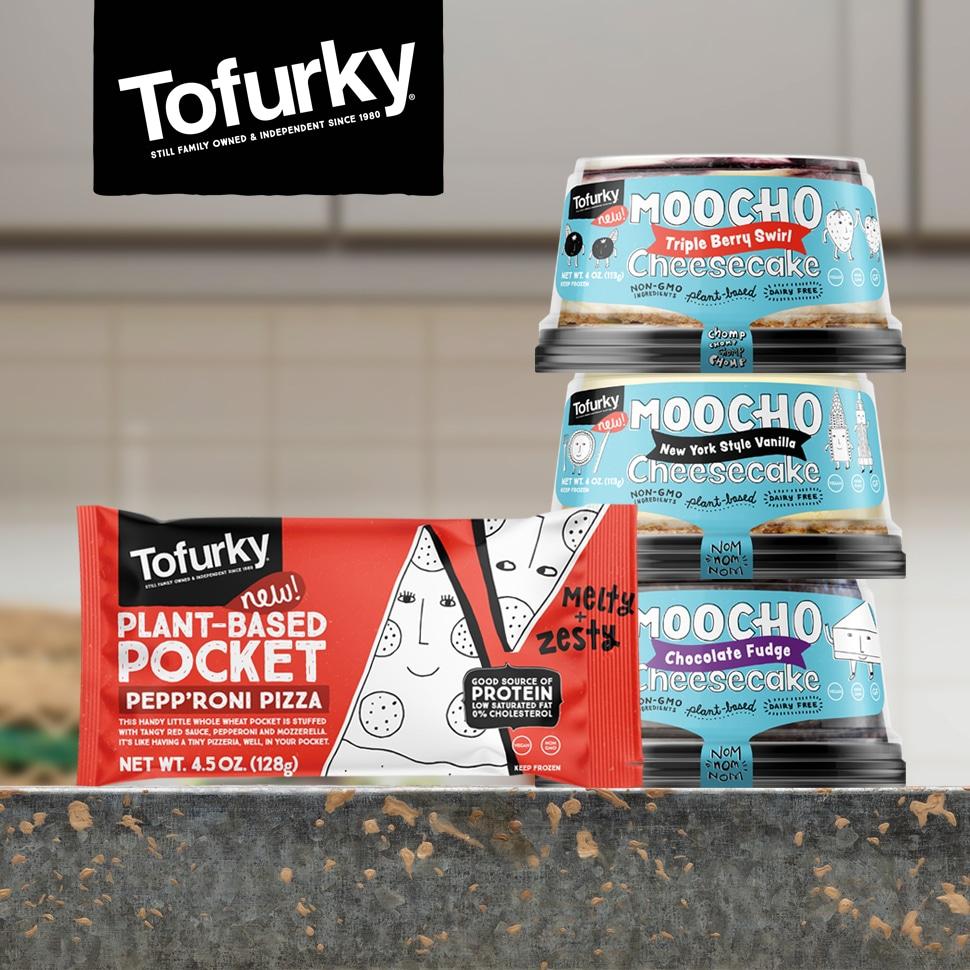 Tofurky Revives Pockets Line & Launches Moocho Sub-brand