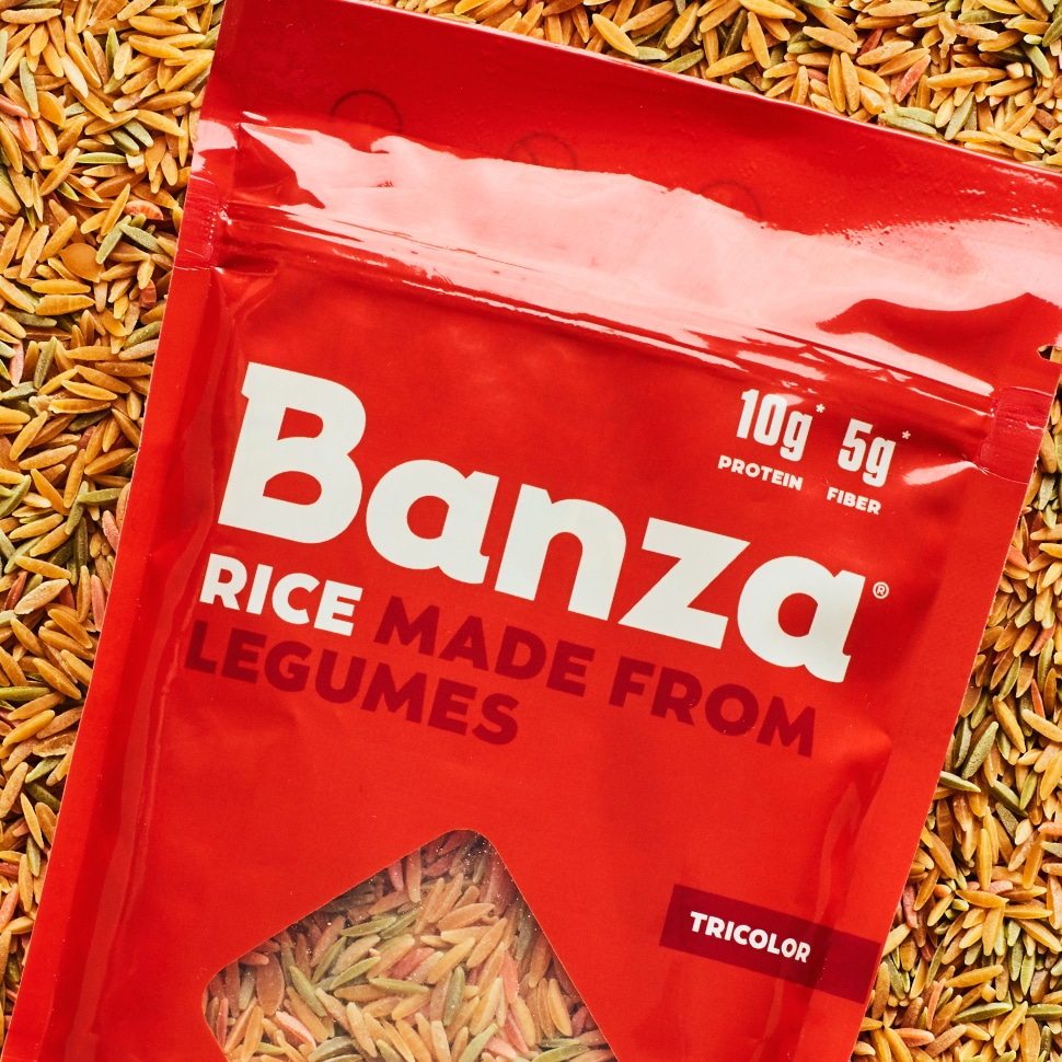 "Banza Brands its Own Chickpea ""Rice"""