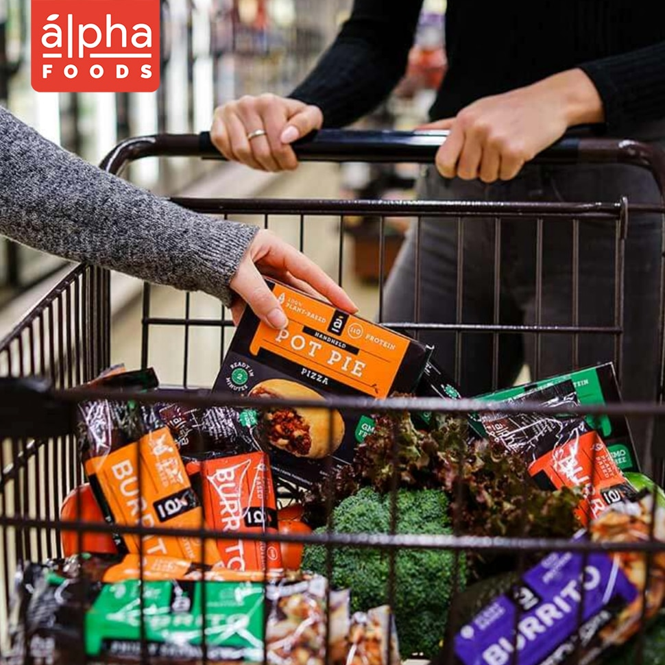 Alpha Foods Raises $7M in Quest to Become Plant-Based Leader