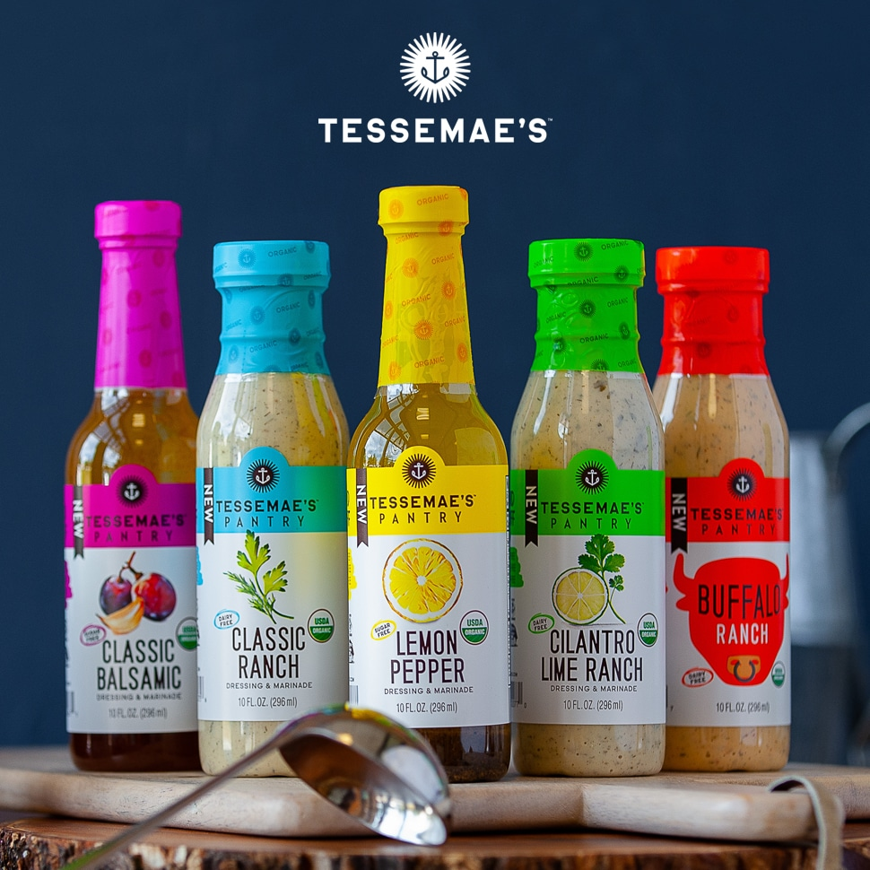 Tessemae's Moves into Center Store