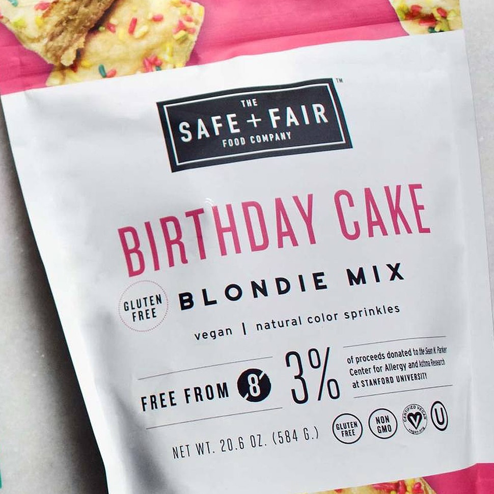Safe and Fair Wants Allergic Consumers to Eat Cake — and Spaghetti, Too