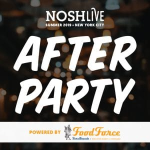 NOSH Live Afterparty: A New York State of Mind