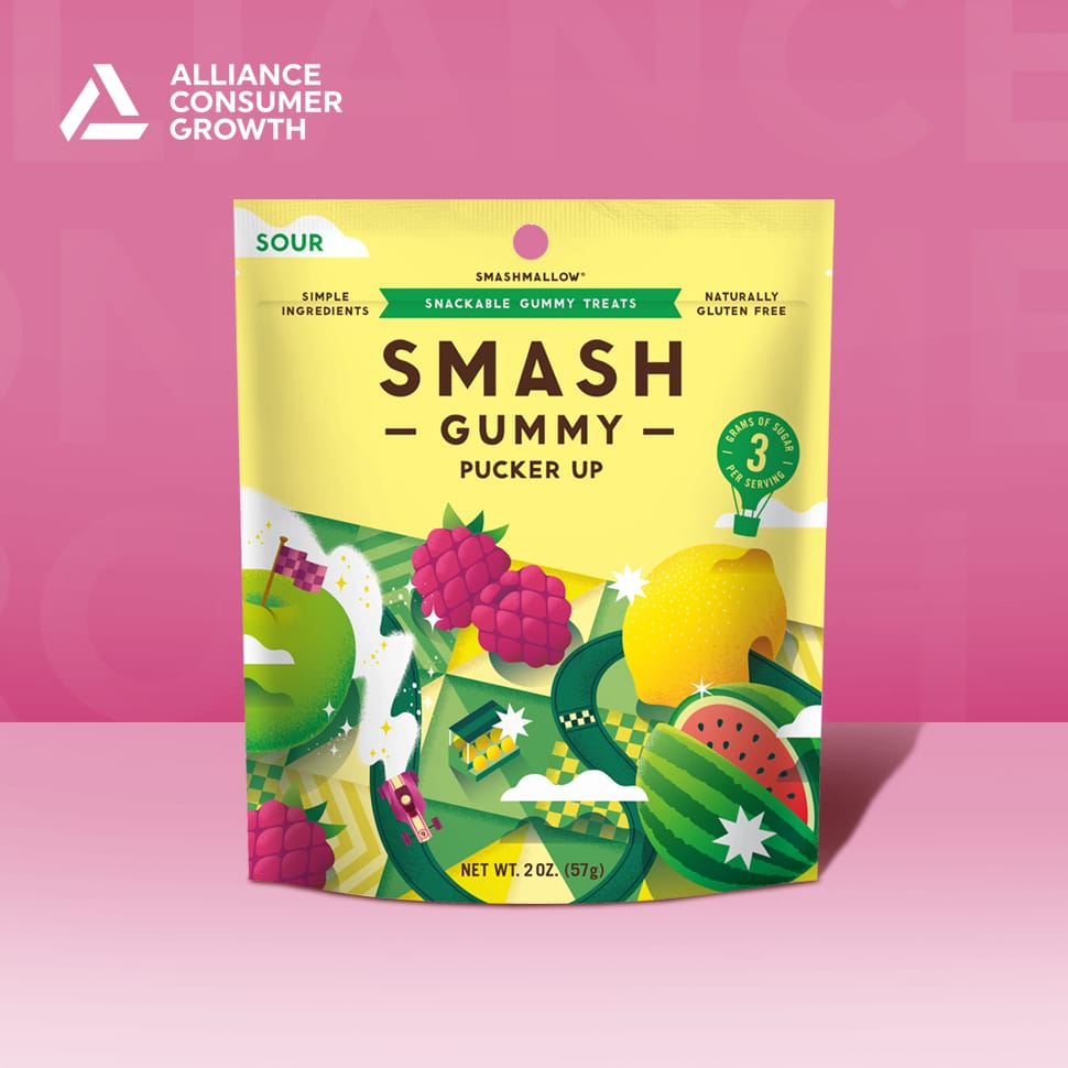Smashmallow Closes Funding Round from ACG, Launches Low-Sugar Gummies