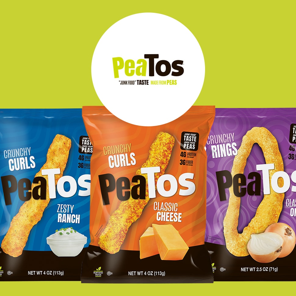 Give Peas Another Chance: PeaTos Rebrands, Expands