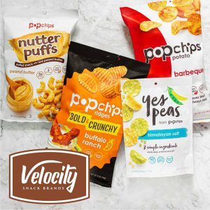 VMG to go Retail with Velocity Snack Brands Launch, Acquires Popchips