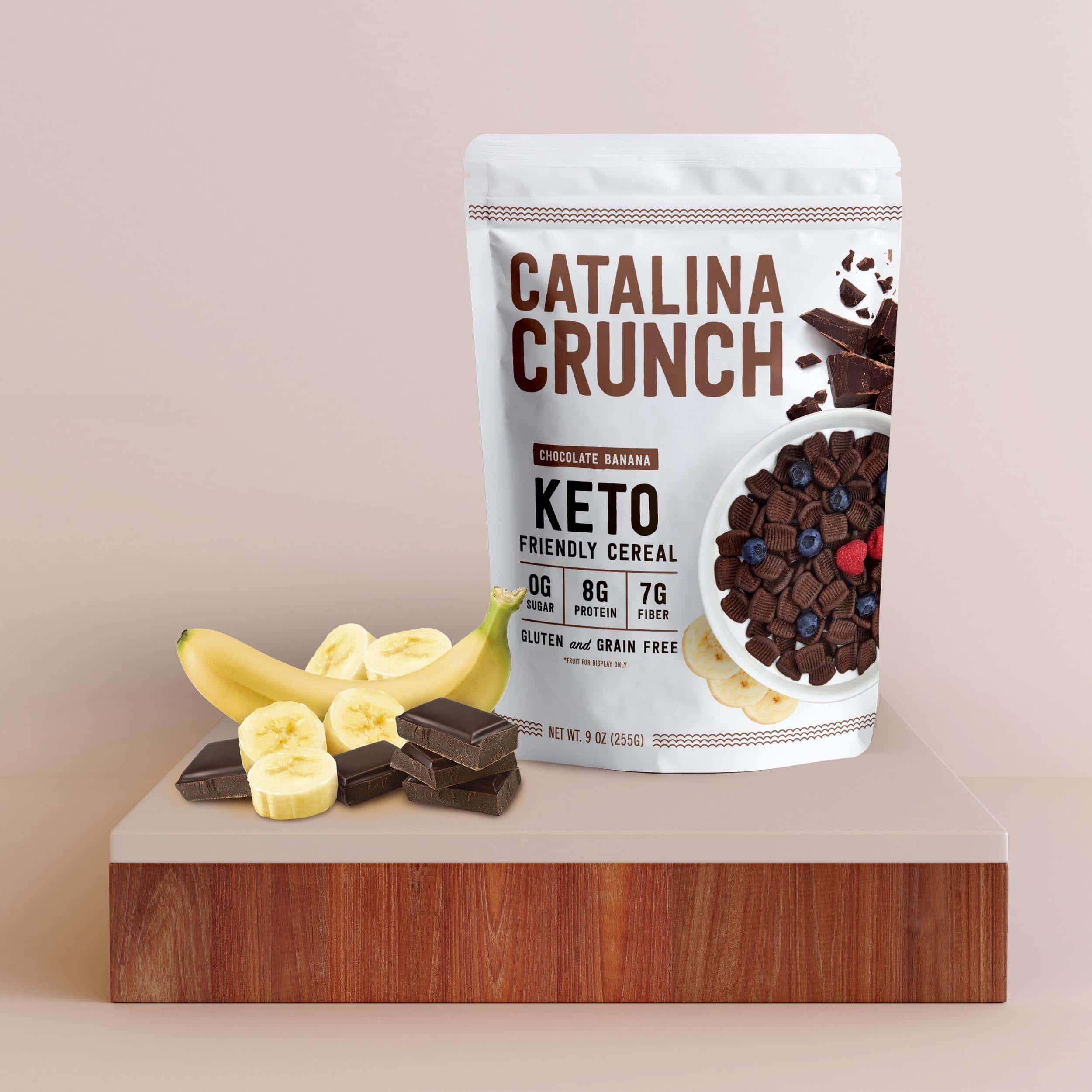 Catalina Crunch Launches Chocolate Banana Cereal - NOSH