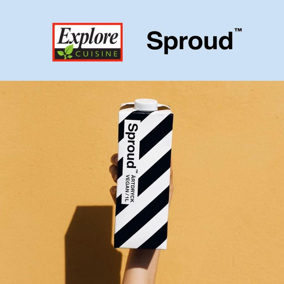 Explore Cuisine Parent Company Ethical Brands to Launch Swedish Pea Milk Brand Sproud in U.S.