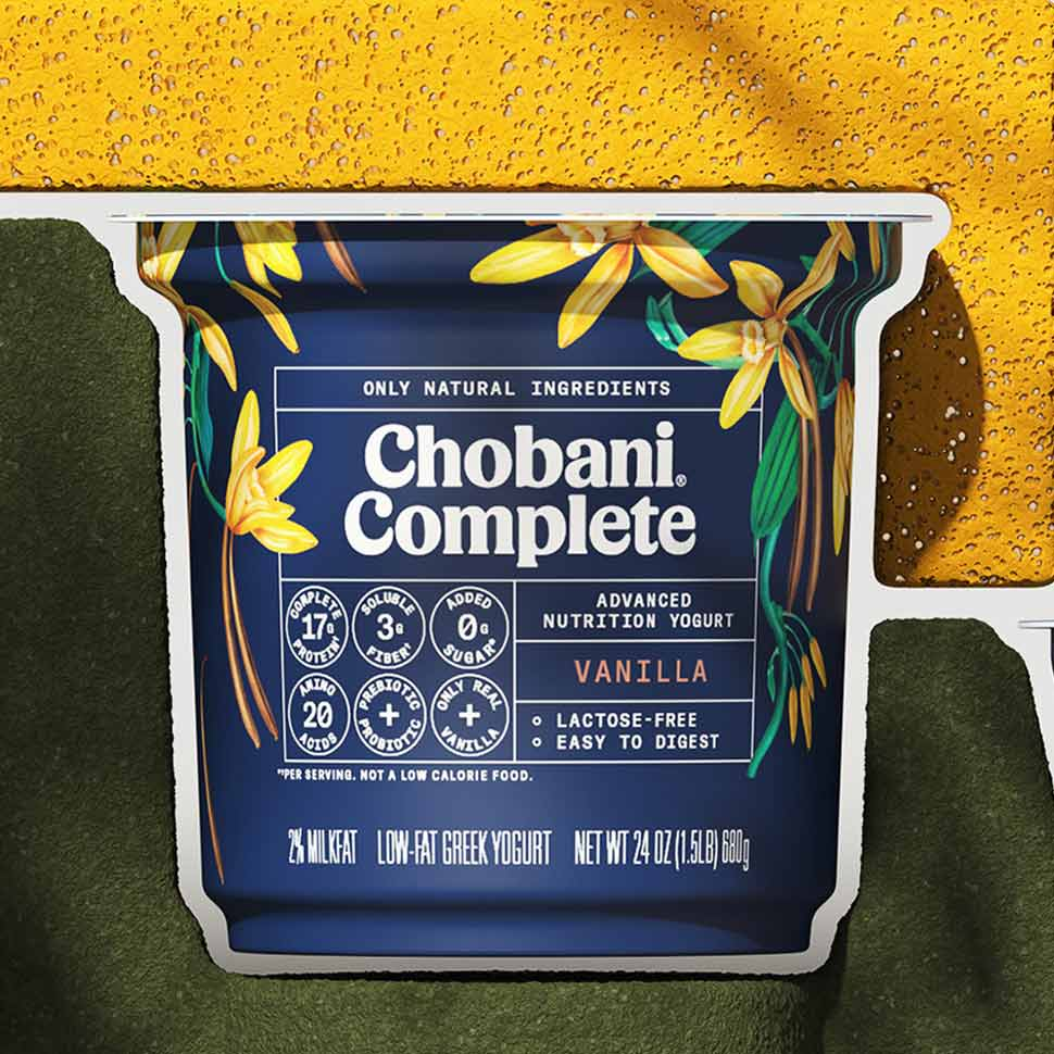 Chobani Expands Into Functional CPG With Probiotic, 'Complete'