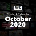 October 2020 Content Calendar: CBD Event, Category Close-Ups + Investor Speed Dating