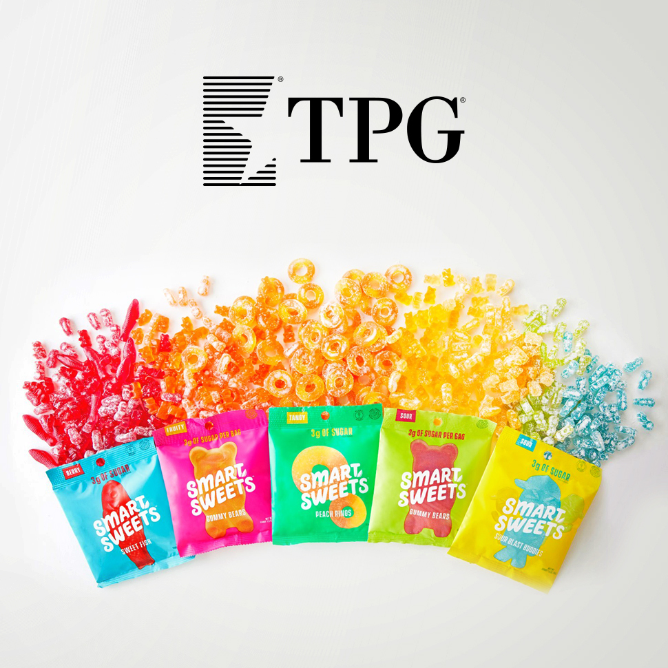 Smart Money: SmartSweets Sells to TPG, Brings on New CEO
