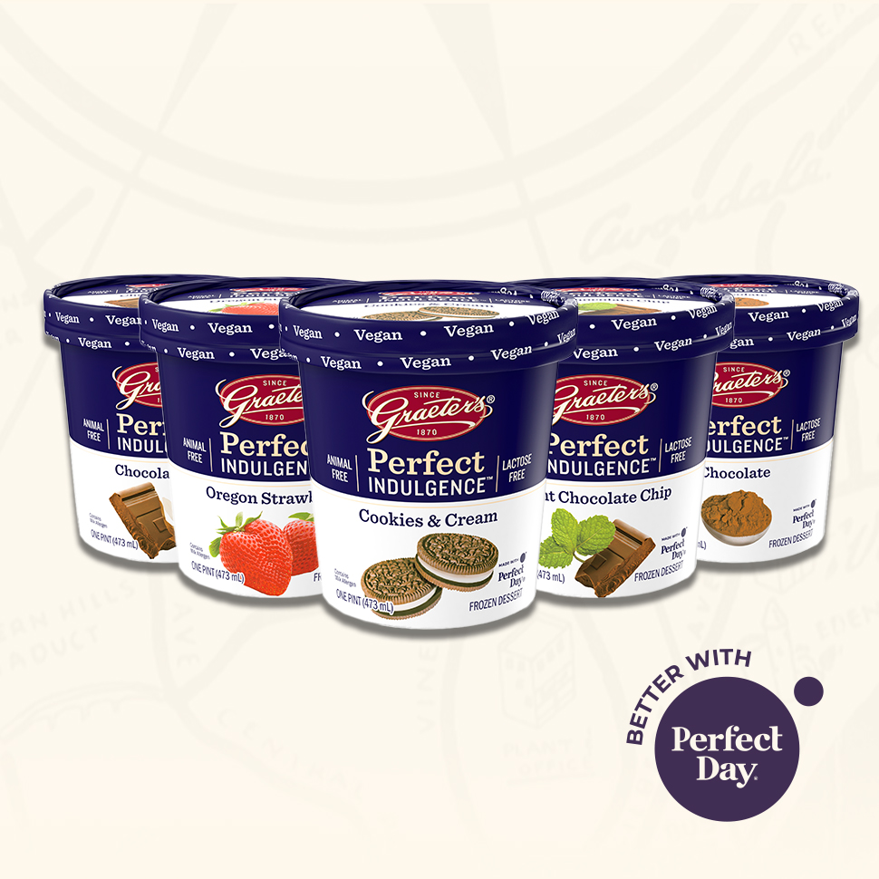 Perfect Day & Graeter's Partner for New 'Indulgent' Offering
