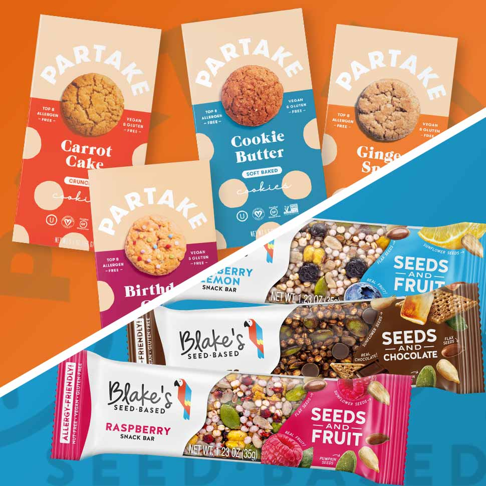 Distribution Roundup: Allergy-Friendly Brands Partake, Blake's Seed Based Expand in Retail