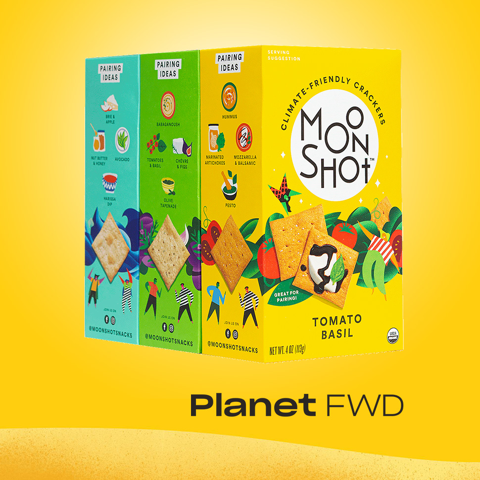 Planet FWD Seeks to Pioneer New 'Climate-Friendly' Category With Moonshot Snacks