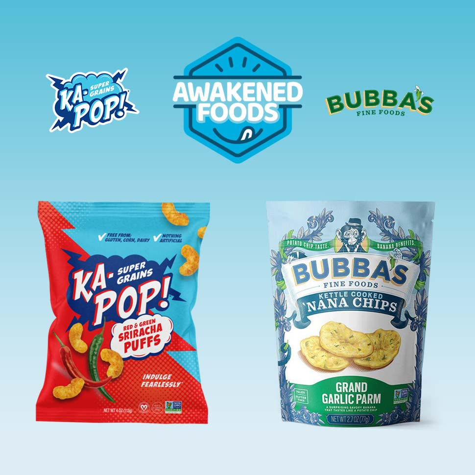 Ka-Pop, Bubba's Merge to Form Awakened Foods, Launch Co-Packing Division