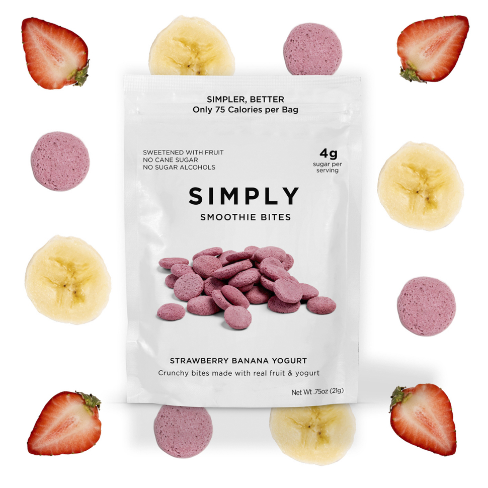 Simply Gum Shifts Focus to Snackable Candy With New Smoothie Bites