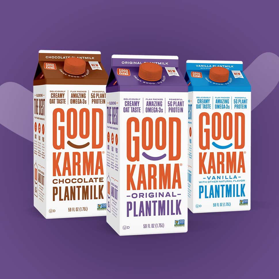 Good Karma Charts New Chapter with Brand Refresh, Plantmilk Launch