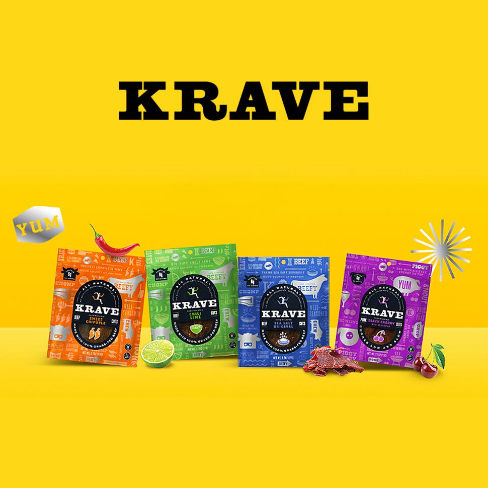 Krave Relaunches: Goes 'Back to Basics'