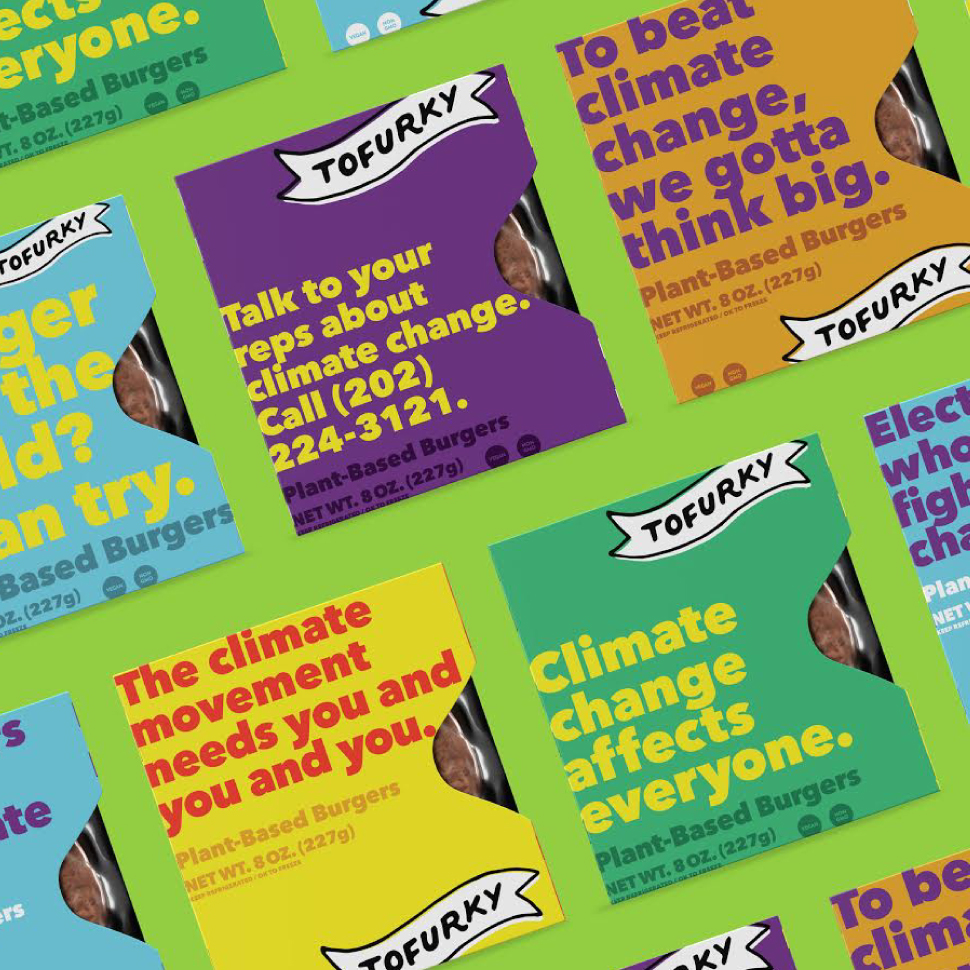 Tofurky to Use Packaging to Advocate for Climate Change Action