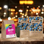 Snowing In Space, Grit Coffee Merge Operations Under Bread & Table